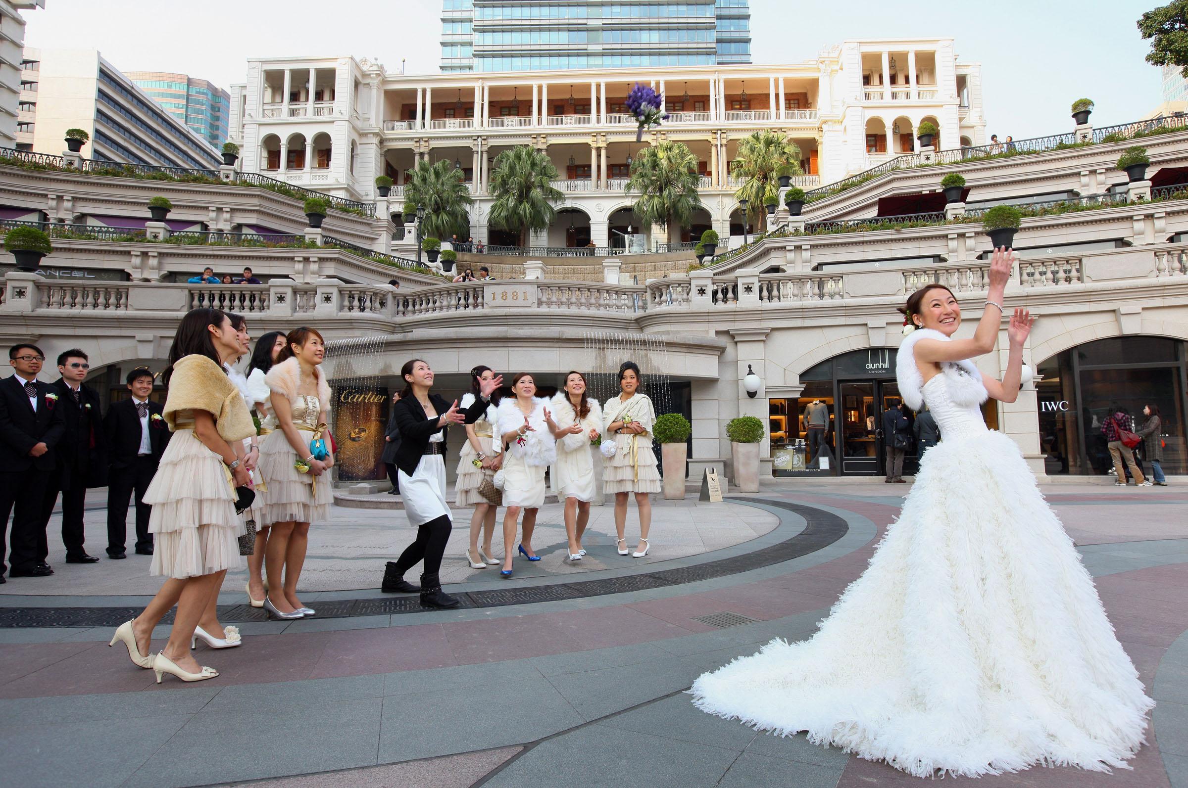 National heritage wedding